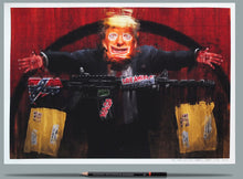 Load image into Gallery viewer, Trump Painting Print Wefail