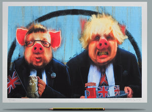 The Negotiators - Ltd Ed A3