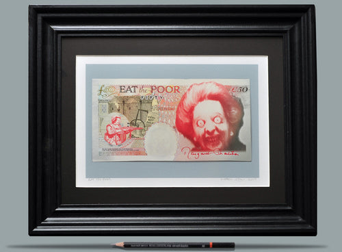 Eat The Poor - Framed