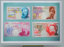Load image into Gallery viewer, Tory banknotes depicting May, Rees-Mogg, Boris and Thatcher.