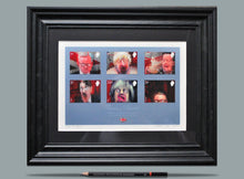 Load image into Gallery viewer, Faces of Brexit - A4 Framed