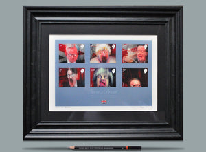 Faces of Brexit - A4 Framed