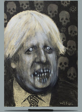 Load image into Gallery viewer, Study of Boris. Charcoal and Pastel on Paper - A3