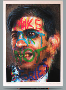 Portrait of Rishi Sunak Painting