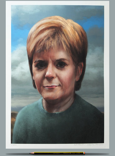 Why Don't You Paint Nicola Sturgeon? - Ltd Edition A3