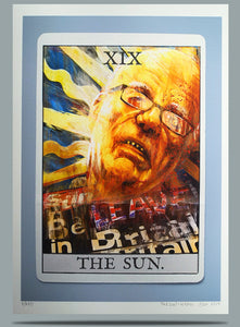 The Sun - Ltd Ed A3