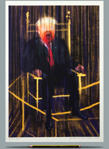 Painting of Trump - Francis Bacon