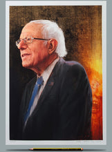 Load image into Gallery viewer, Portrait painting of Bernie Sanders