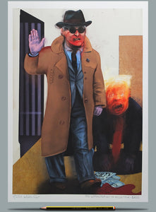 The Commutation of Roger Stone - Ltd Ed A3