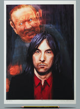 Load image into Gallery viewer, Bobby Gillespie Andrew Neil painting