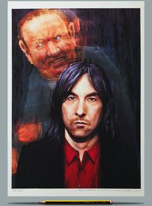 Bobby Gillespie Andrew Neil painting