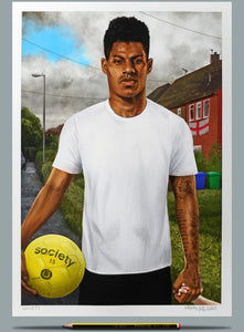 Portrait of Marcus Rashford