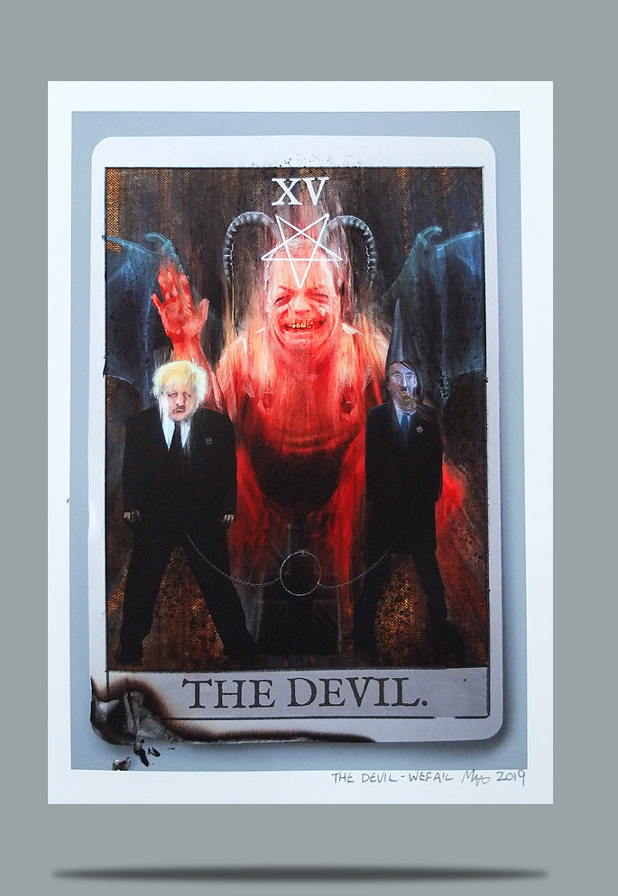 The Devil - Open Ed A4
