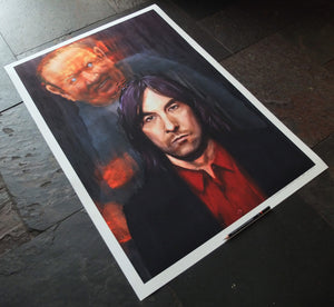 The Portrait of Bobby Gillespie - Ltd Ed A1