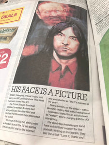 The Portrait of Bobby Gillespie - Ltd Ed A3