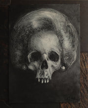 Load image into Gallery viewer, Forever. Charcoal and Pastel on Paper - A3