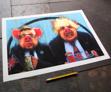 Load image into Gallery viewer, The Negotiators - Ltd Ed A3