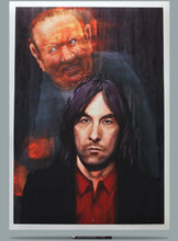 Load image into Gallery viewer, Bobby Gillespie portrait Andrew Neil painting