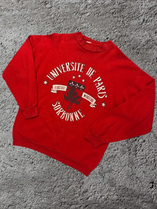 Vintage Universite de Paris Sweatshirt - Medium