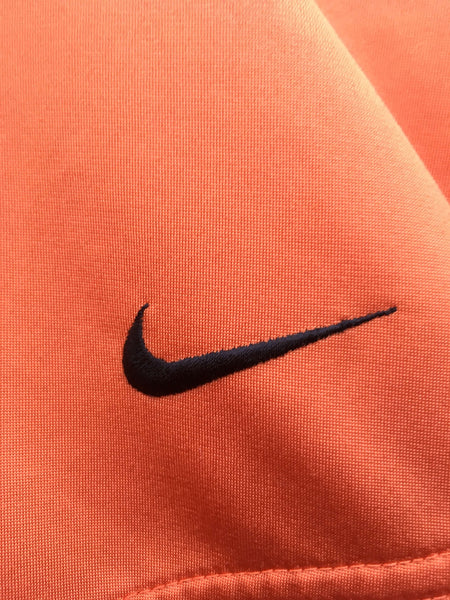 Vintage Nike Orange Tracktop, Small