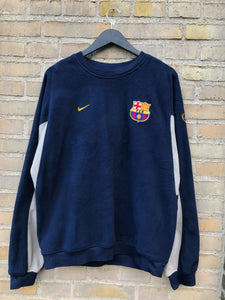 Vintage Nike FC Barcelona Fleece - Large