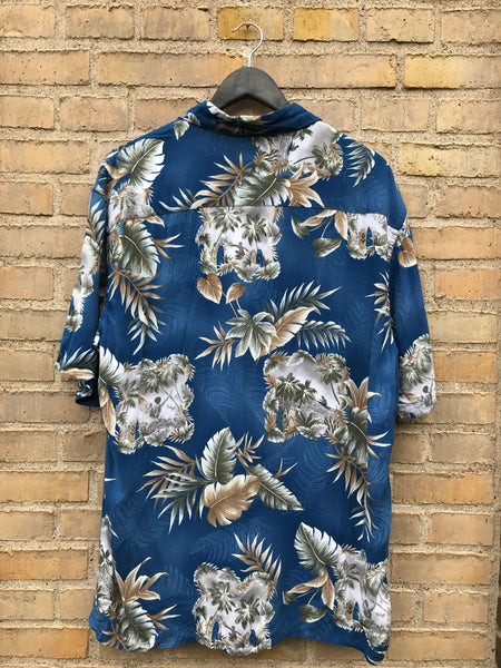 Vintage Hawaii Skjorte - Large