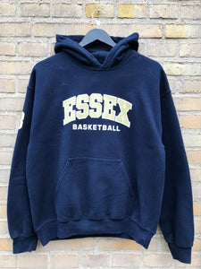 Vintage Essex Basketball Hoodie - Medium