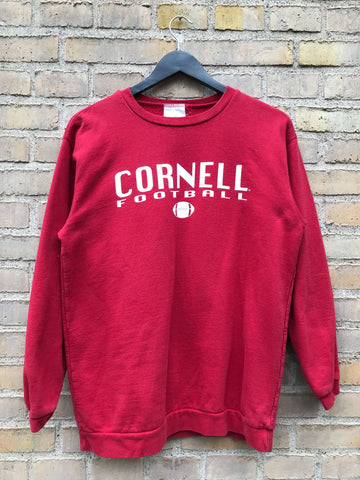 Vintage Cornell Football Sweatshirt - Small