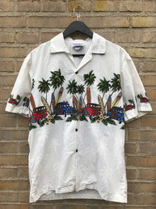 Vintage Hawaii Surf Skjorte - Medium
