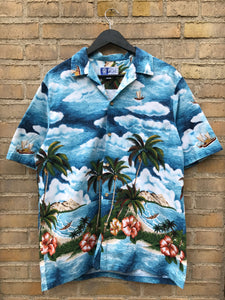 Vintage Hawaii Skjorte - XL