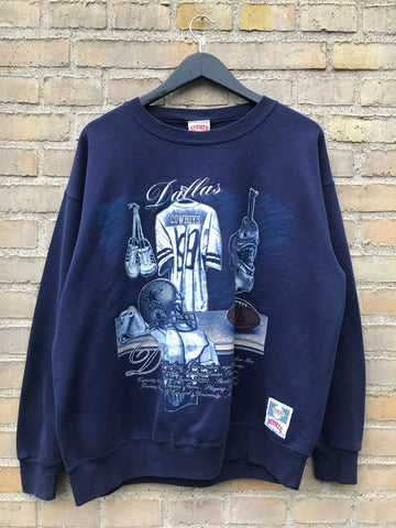 Vintage 90's Dallas Cowboys Sweatshirt - Medium