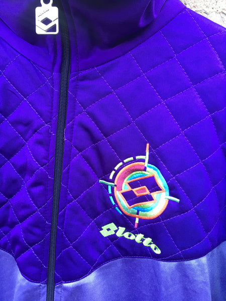 Vintage Lotto Purple Tracktop, XL
