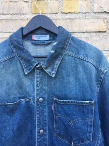 Vintage Levi's Pocket Denimjakke, XL
