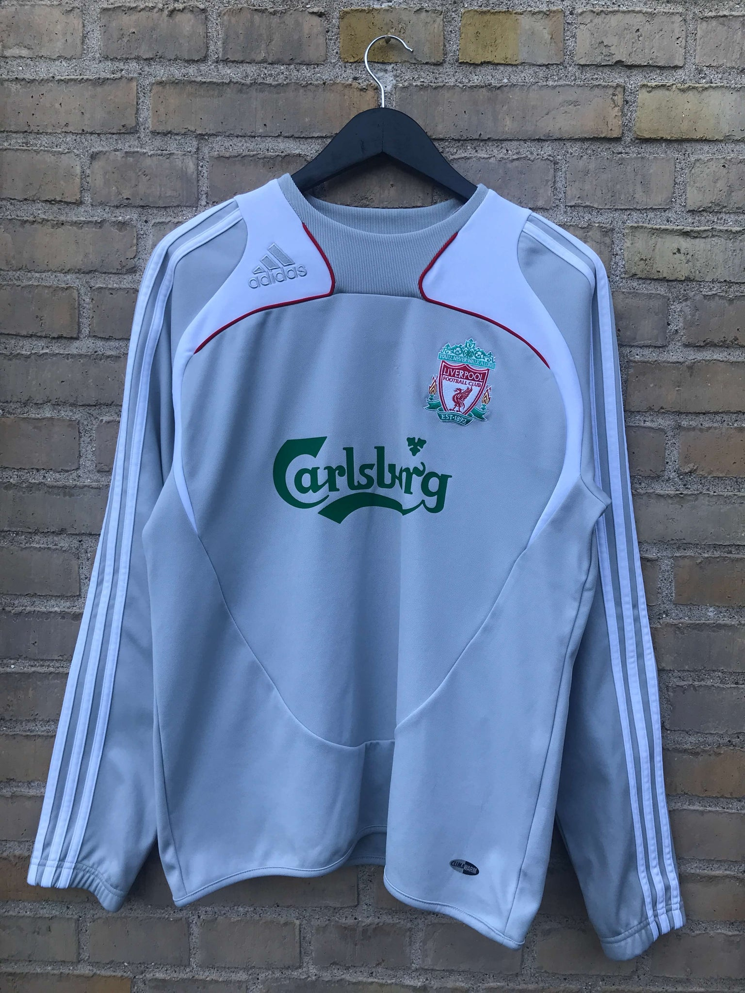 Vintage Adidas Liverpool Crewneck - Medium
