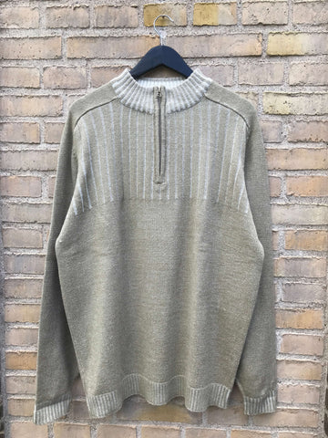 Vintage Half-Zip Strik - XL