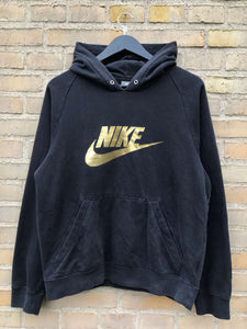 Vintage Nike Spellout Hoodie - Small