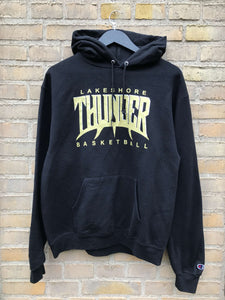 Vintage Champion Thunder Hoodie, Medium