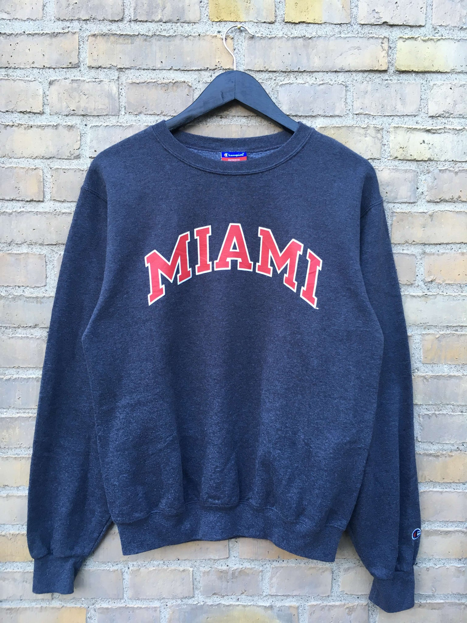 Vintage Champion Miami Sweatshirt, Small