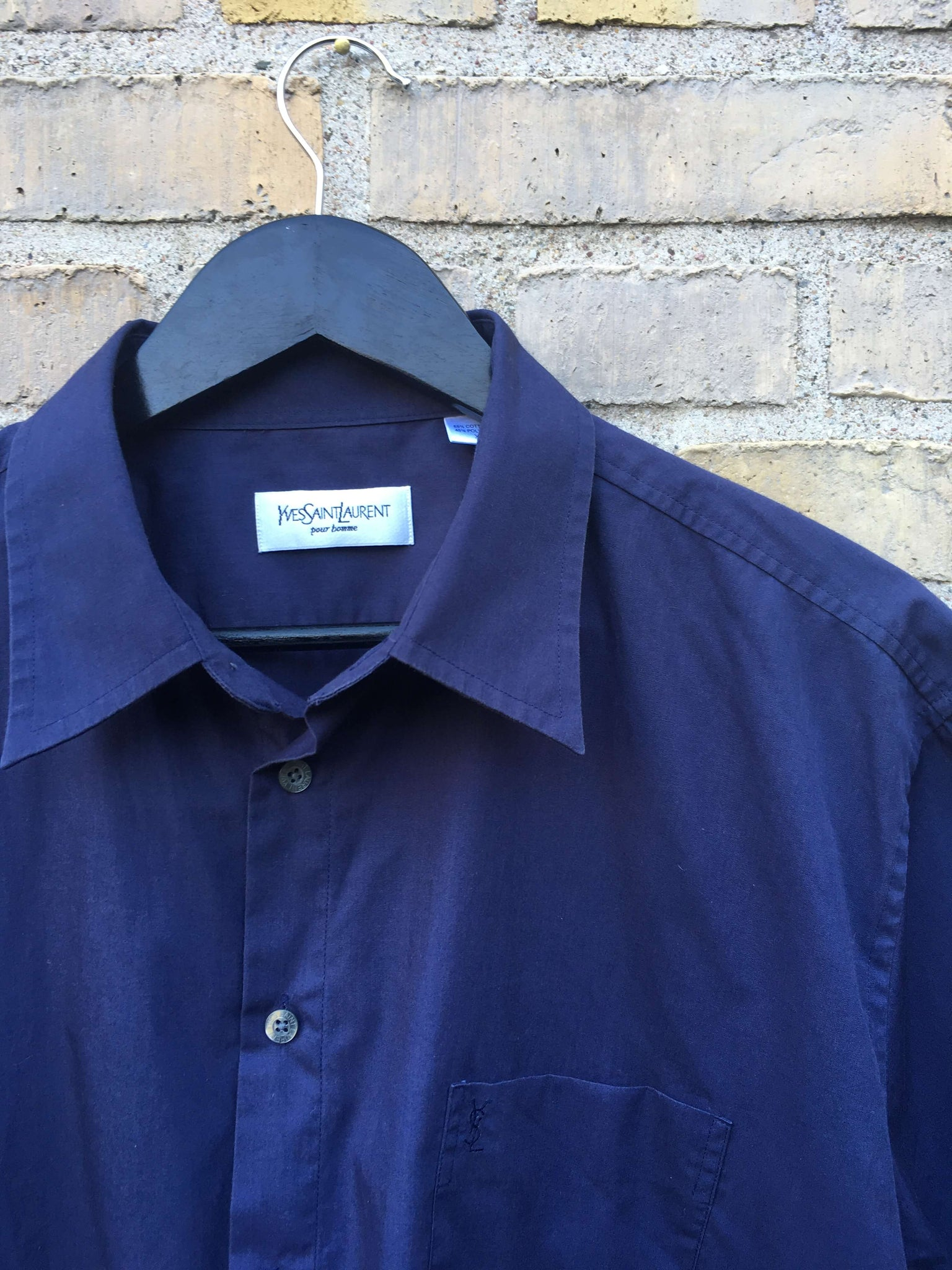 Vintage Yves Saint Laurent Skjorte, XL