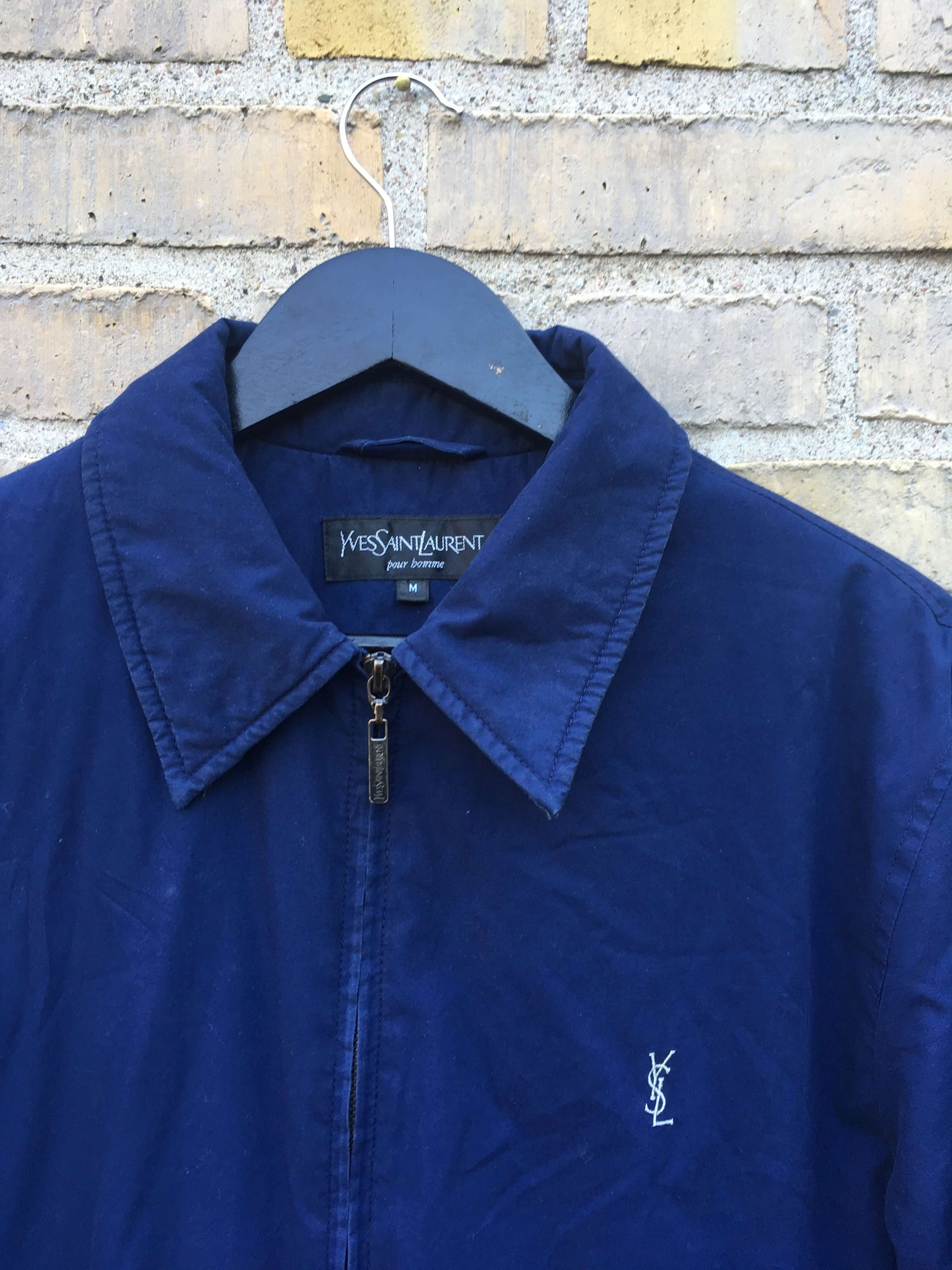 Vintage Yves Saint Laurent Harringtonjakke, Medium