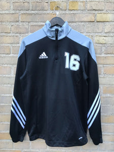 Vintage Adidas 1/4-Zip Sweatshirt - Medium