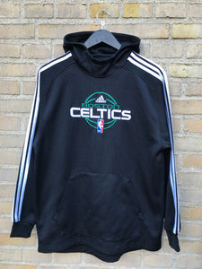Vintage Adidas Boston Celtics Hoodie - Small