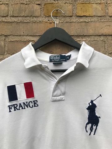 Vintage Ralph Lauren France Polo - Large