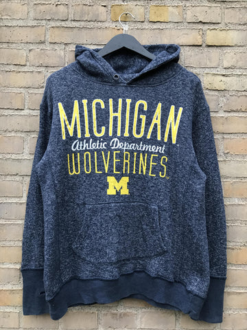 Vintage Michigan Wolverines Hoodie - Large