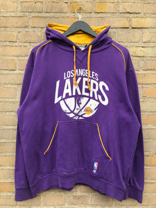 Vintage Champion LA Lakers Hoodie - Large