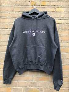 Vintage Champion Weber State Hoodie - Small