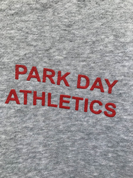 Vintage Nike Park Day Athletics Hoodie, Large
