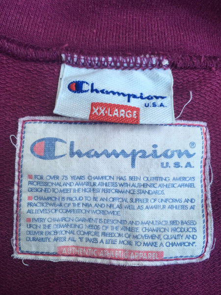 Vintage Champion 90's Half-Zip, XL