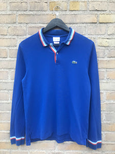 Vintage Lacoste Longsleeve Polo - Medium