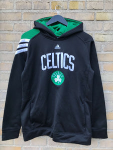 Vintage Adidas Boston Celtics Hoodie - Medium
